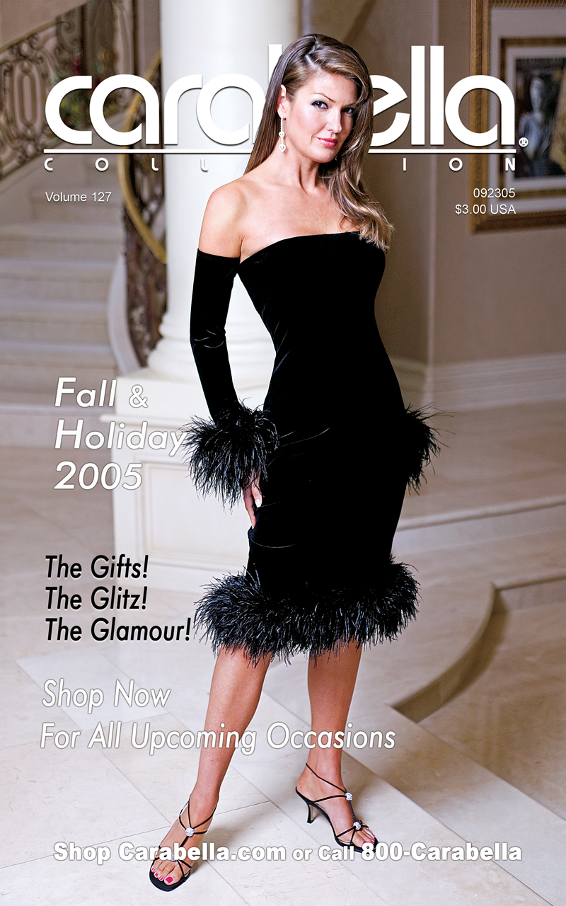 Catalog Cover Design-Carabella